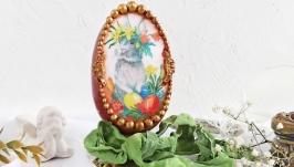Яйцо пасхальное подарок ′Пасхальный кролик′