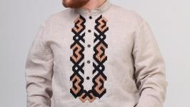 Чоловіча вишита сорочка (509)