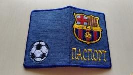 Обложка на паспорт′Барселона′