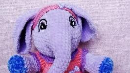 Плюшевая слоняшка Няшка