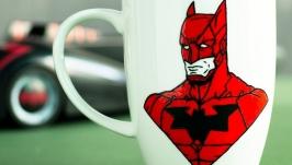 Cup Red Batman