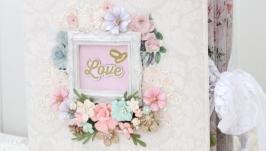Большой свадебный альбом ручной работы в наличии , подарок на свадьбу
