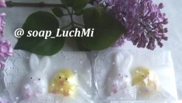 Набор мыла ′Зайка и цыпленок′