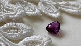 Garnet (rhodolite) - jewelry insert