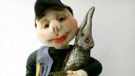 Кукла рыбак подарок мужчине. Подарок мужу, рыбаку. Подарунок чоловікові