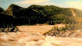 Горный Алтай. Манжерокские пороги  Mountain Altai. The Manzherok Rapids