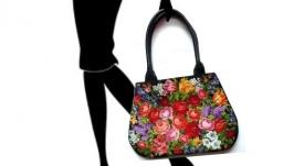 Flower Bag, embroidery bag, Handbag, ukraine embroidery, floral embroidery