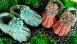 Носочки-тапочки для малышей