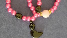 Браслеты серии ′Розовый дуэт′