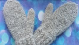 dog wool  mittens