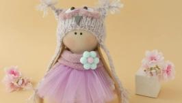 Кукла текстильная .Кукла тильда. Красивая кукла.