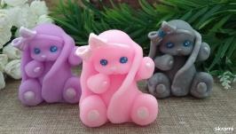 Мыло игрушка Зайка