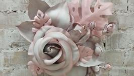 Прекрасная цветочная композиция 3Д!