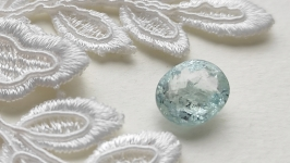 Aquamarine - jewelry insert