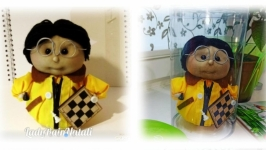 Коллекционная кукла Шахматист.
