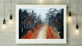 painting watercolor ′way′