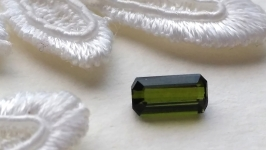 Green Tourmaline - jewelry insert