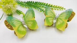 тут изображено Бабочки резиночки