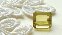 Citrine is a jewelry insert