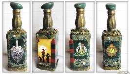 Сувенирная бутылка Погранвойска Подарок мужчине пограничнику