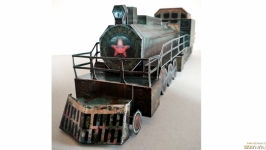 Модель поезда Аврора
