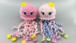 Погремушка-подвеска для малыша Медуза