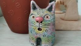 Статуэтка керамическая. Кот.