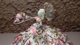 Авторская интерьерная кукла ′На прогулке 1′