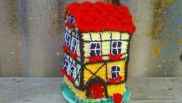 Hot water bottle for the teapot ′Fachwerk House′