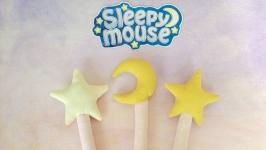 Linen soft toy Magic Wand.