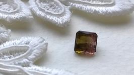 Watermelon tourmaline (two-tone) - jewelry insert