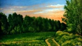 Вечернее поле  Evening Field