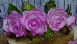 Очень нежный набор аксессуаров ′Розовые сны′ из фоамирана