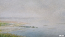 Туманное озеро 2  The foggy Lake 2