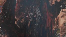 Картина абстракция ′Дракон′.