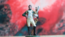 The tin soldier. Colonel of the Dragoon Guards. France, 1808-14.