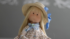 Морячка Соня интерьерная текстильная кукла