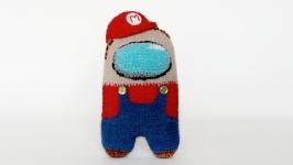 АмонгАс Супер Марио.