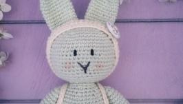 Мятный кролик амигуруми