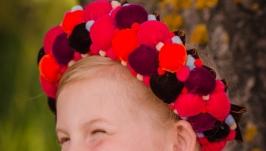 Ukrainian handmade wreath