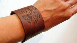Браслеіз натуральної шкіри Хугін