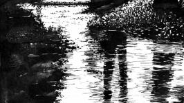 Весенний ручей  The Spring Brook