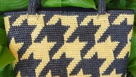 Knitted bag ′Ilida′