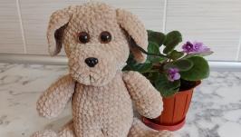 Crochet toy dog, amigurumi dog, dog stuff, dog doll