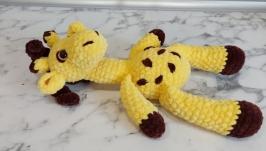 Crochet giraffe, amigurumi giraffe, stuffed toy giraffe