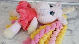 Amigurumi unicorn, crochet toy unicorn