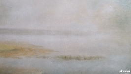 Туманное озеро 3  The foggy Lake 3