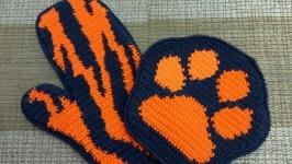 Комплект прихваток ′След тигра′