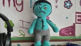 Вязаная кукла Франкенштейн