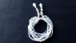 Браслет из бисера, красивый необычный браслет, Прекрасный подарок девушке